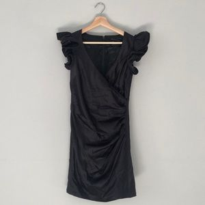 French Connection Black Cocktail Dress size 4